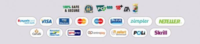 winspark payment methods