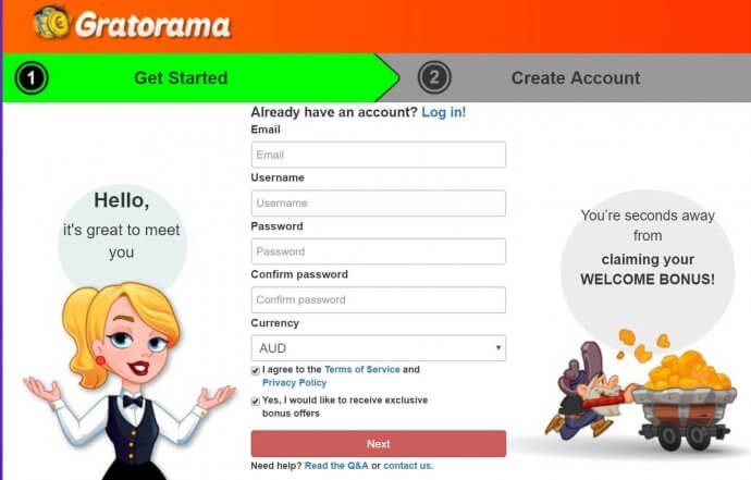 How to Claim Your Gratorama Bonus Codes?