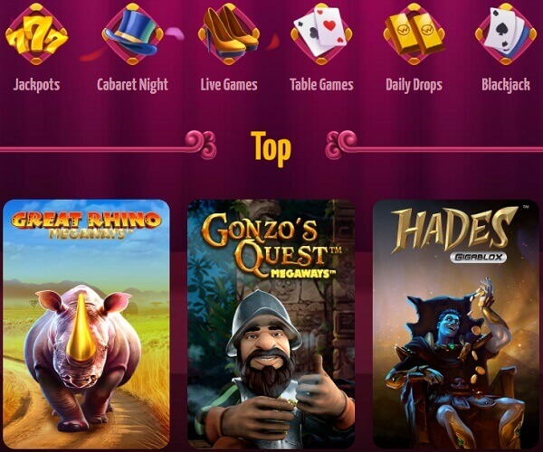 Winota Casino Games