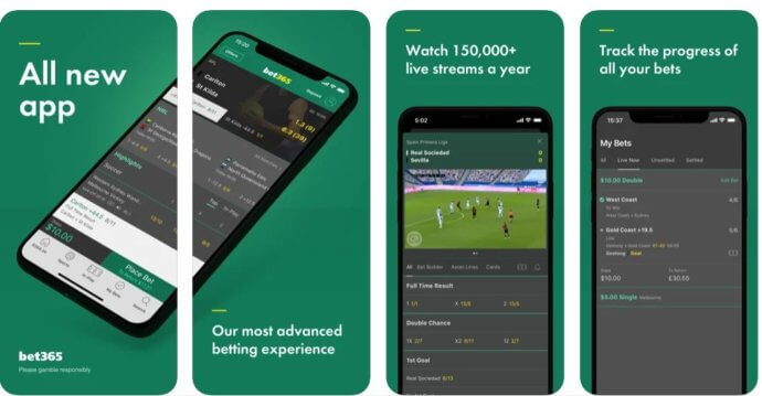 How to use the bet365 App