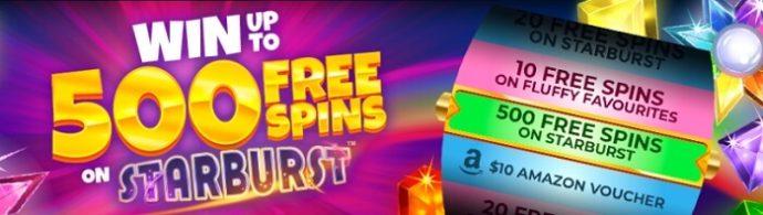Amazon Slots Welcome Bonus