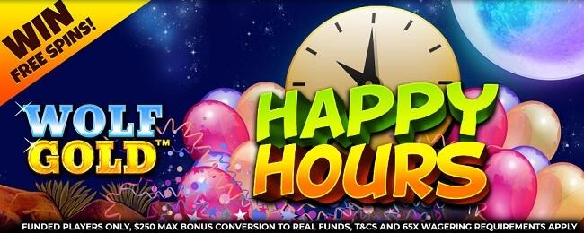 Wizard Slots Happy Hours Bonus
