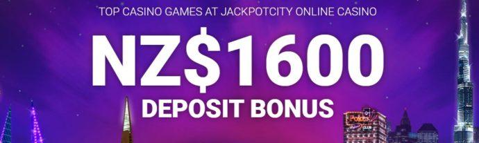 Jackpot City Bonus Codes