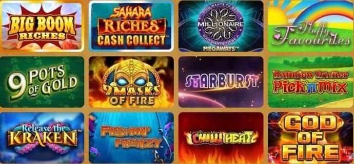 Rainbow Spins Casino Games